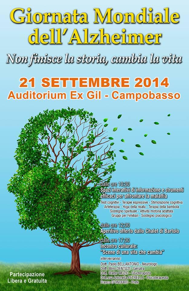 Domenica a Campobasso la giornata dell'Alzheimer