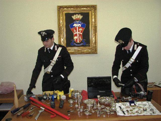 Allarme furti in provincia di Isernia, vasta operazione dei Carabinieri