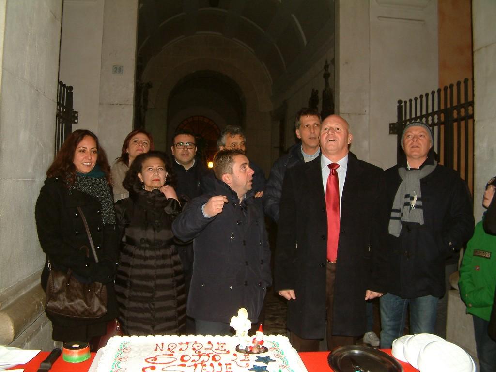 'Natale sotto le stelle', cerimonia d'inaugurazione