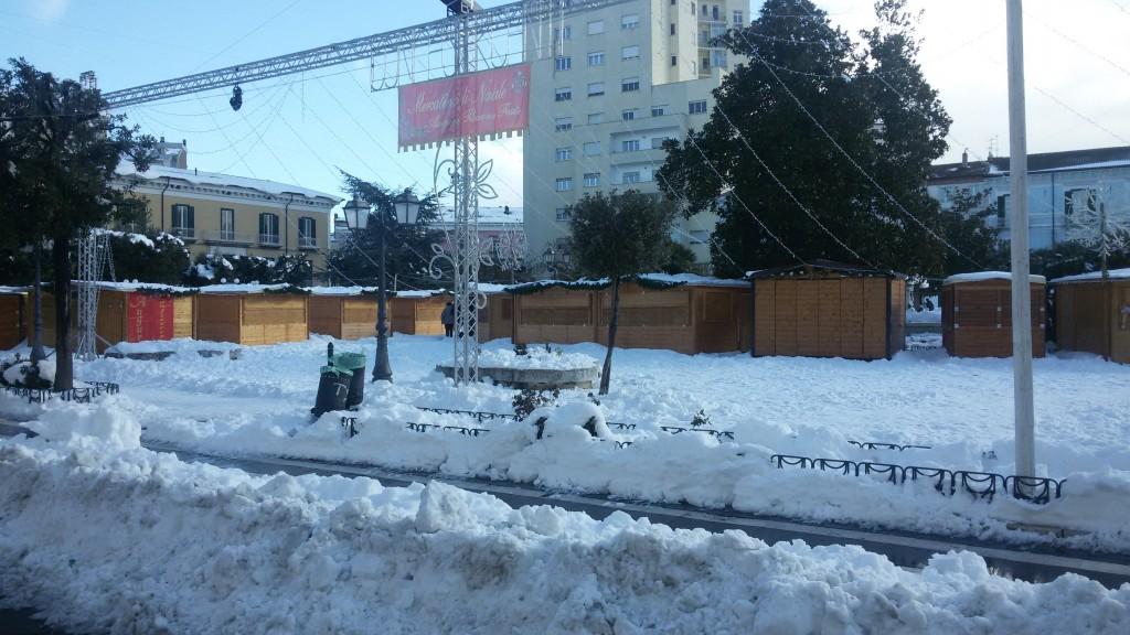 Sul Piano neve, vertice in Comune