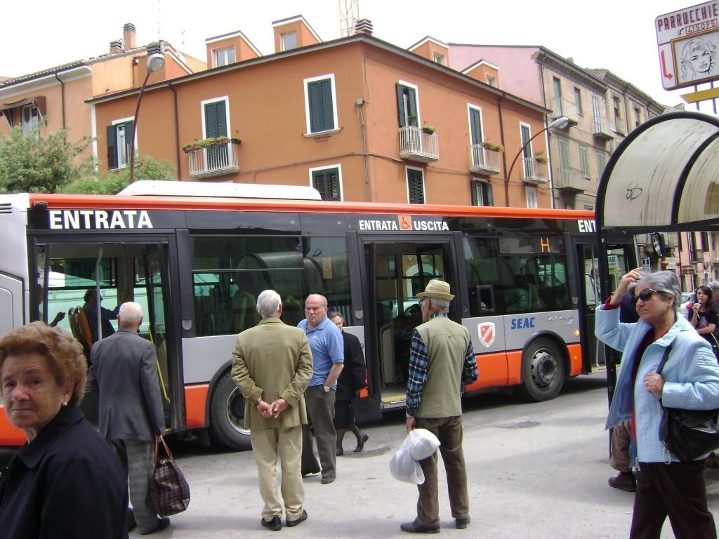 Campobasso, autobus gratuito per i disabili
