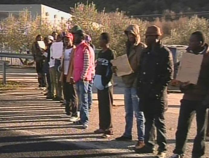 Blocco della statale a Monteroduni, 37 denunce