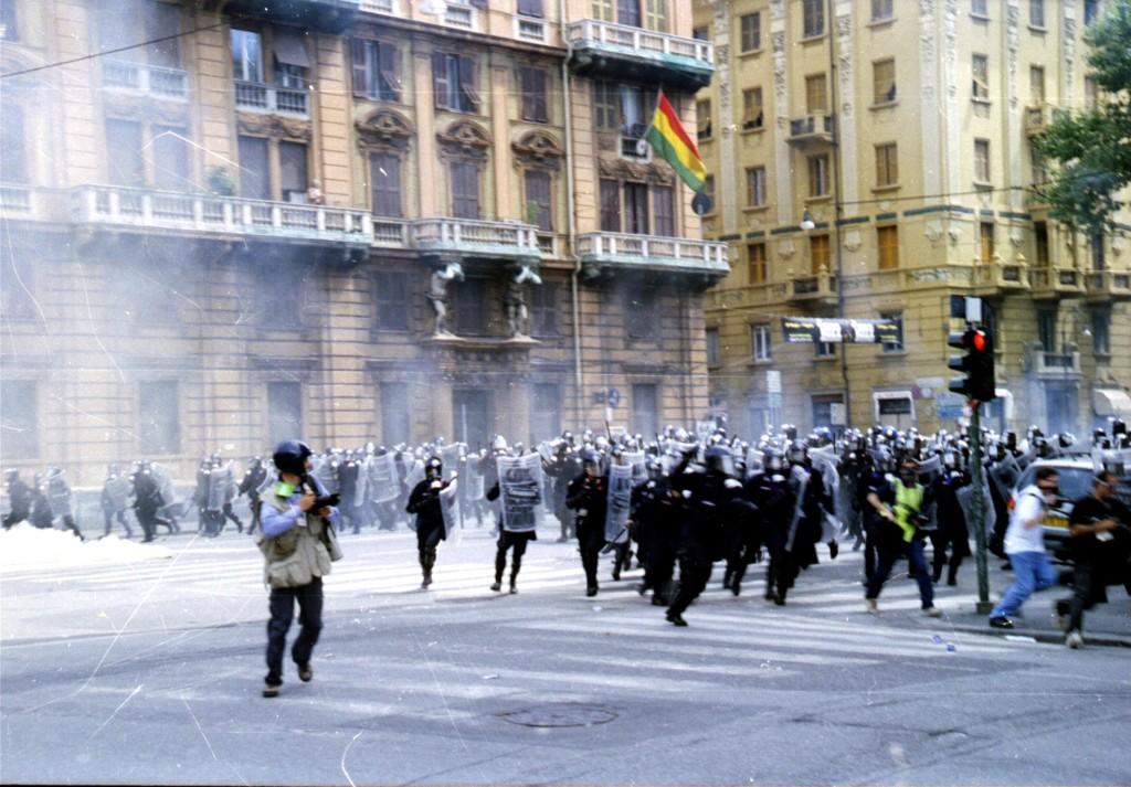 Monumento scontri del G8 a Genova, il Coisp Molise chiede la rimozione