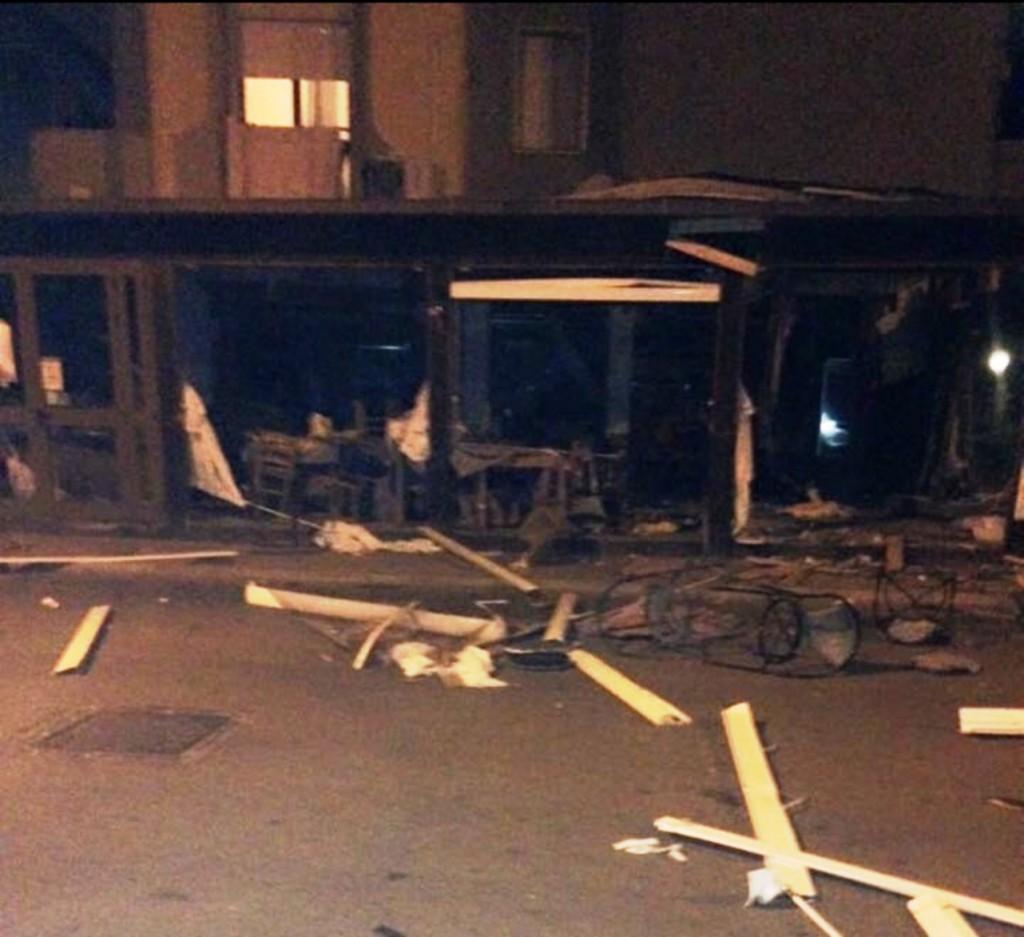Attentato al bar-ristorante di Campomarino Lido, restano in carcere i tre pugliesi