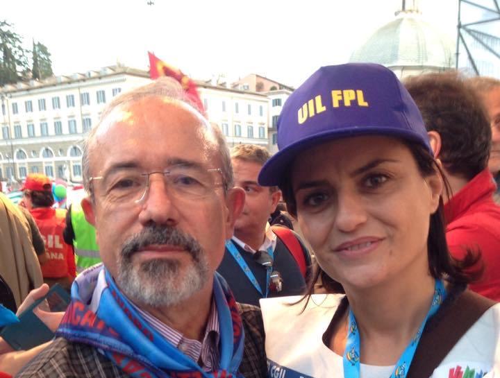 Tecla Boccardo delegata al tredicesimo congresso della Confederazione europea dei sindacati