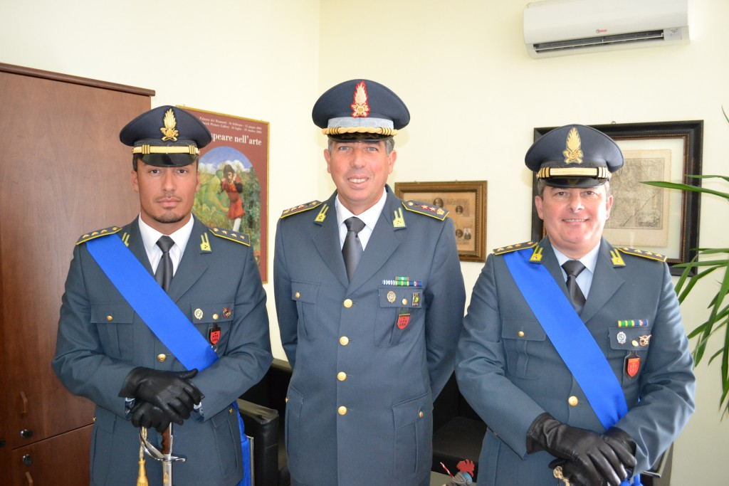 Finanza, Il capitano Angelo Stornaiuolo è il nuovo comandante della Compagnia di Isernia