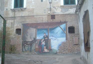 Campomarino, vandali rovinano i murales del borgo