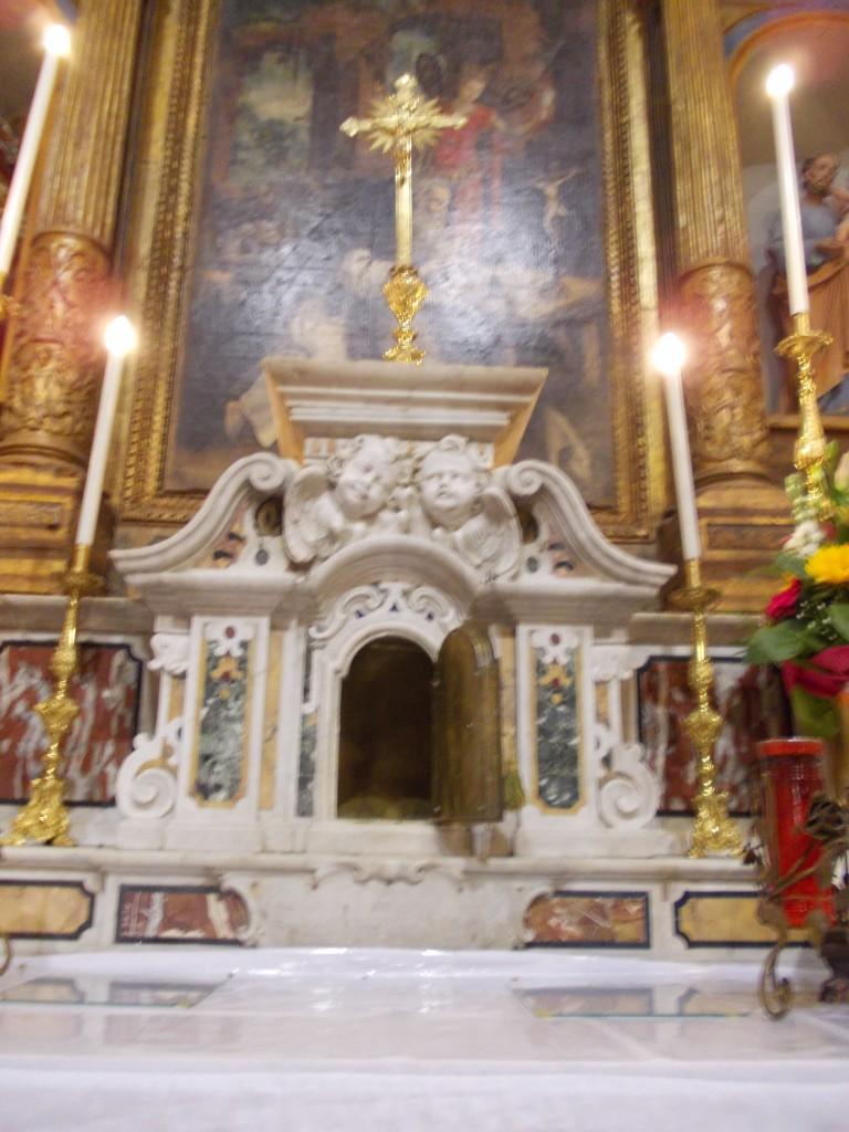 Campobasso, furto sacrilego nella chiesa di Sant'Antonio Abate