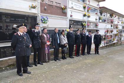 I Carabinieri ricordano l'esempio di Elio Di Mella