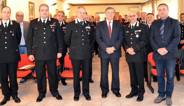 Reati contro la pubblica amministrazione, Carabinieri di Isernia a confronto con Albano