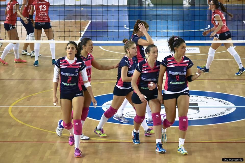 Volley femminile serie B1, Europea 92 ad Arzano