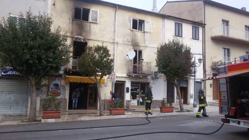 Cercemaggiore, 82enne muore in un incendio nella propria abitazione