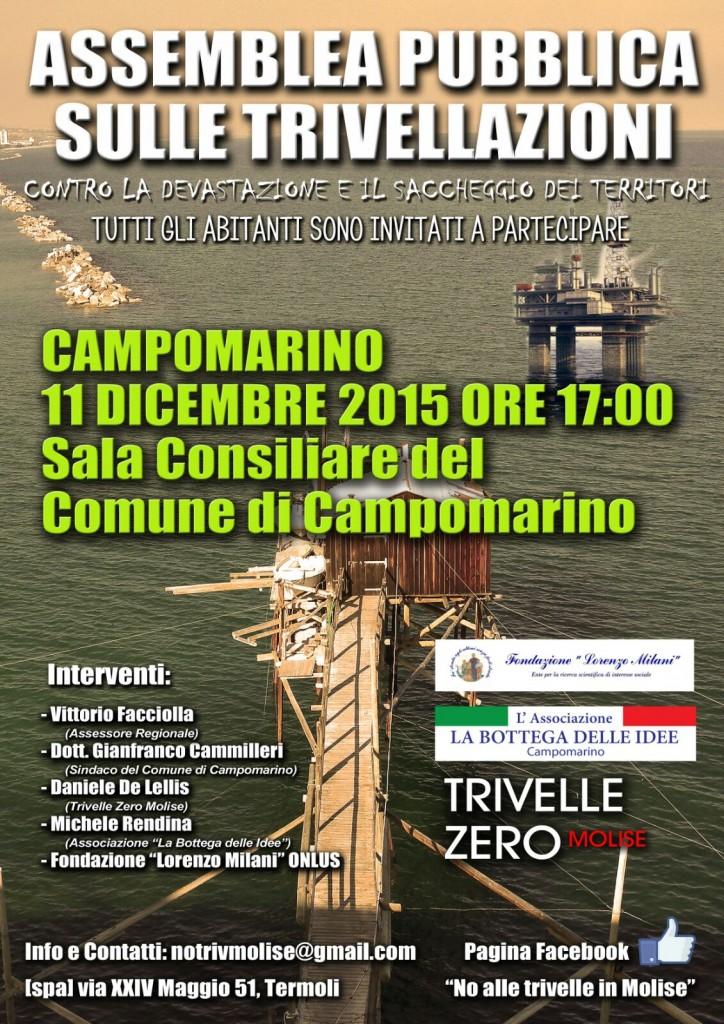 Trivellazioni in mare, nuovo appuntamento di protesta
