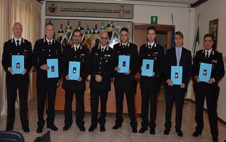 Carabinieri, nove promozioni di fine anno