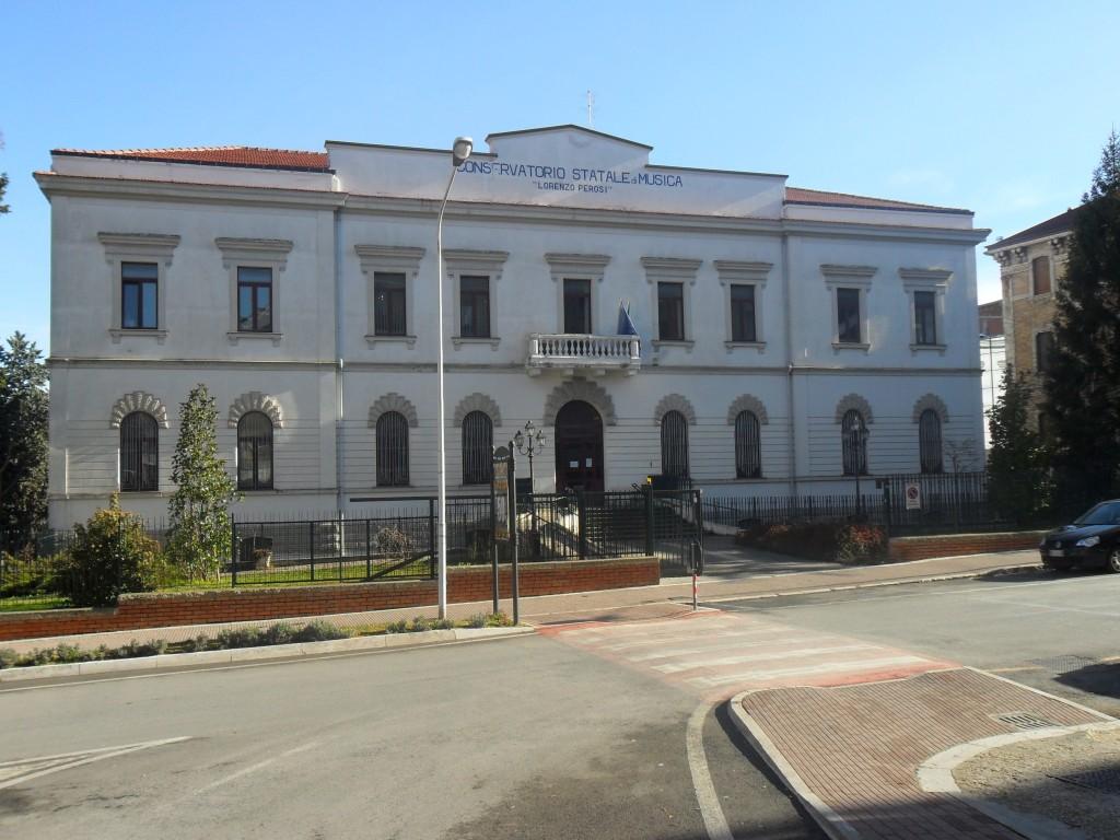 Conservatorio 'Perosi' a rischio, il caso arriva a Palazzo Moffa