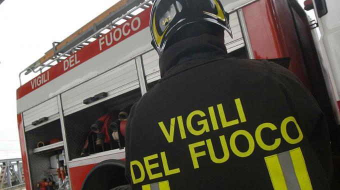 Frosolone, incendio nella frazione di Colle Carrise