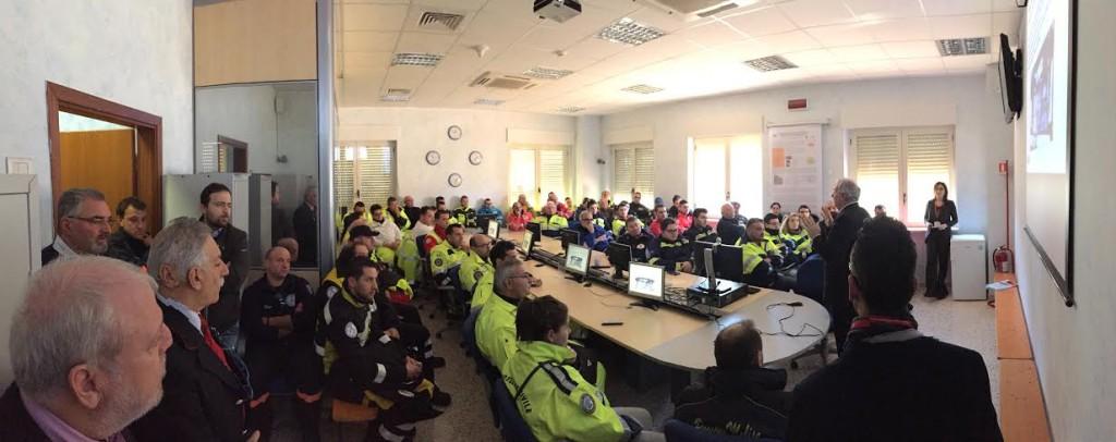 Protezione civile, incontro formativo sull'emergenza ferroviaria