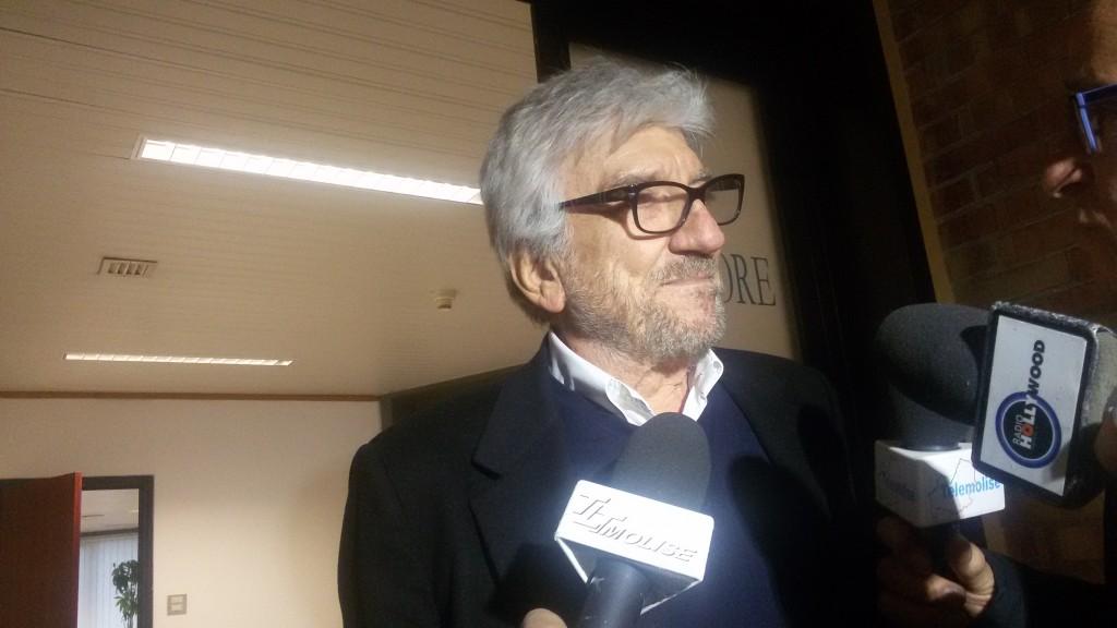 """Gigi Proietti ospite all'Unimol: """"Far ridere il pubblico è una cosa meravigliosa"""""""