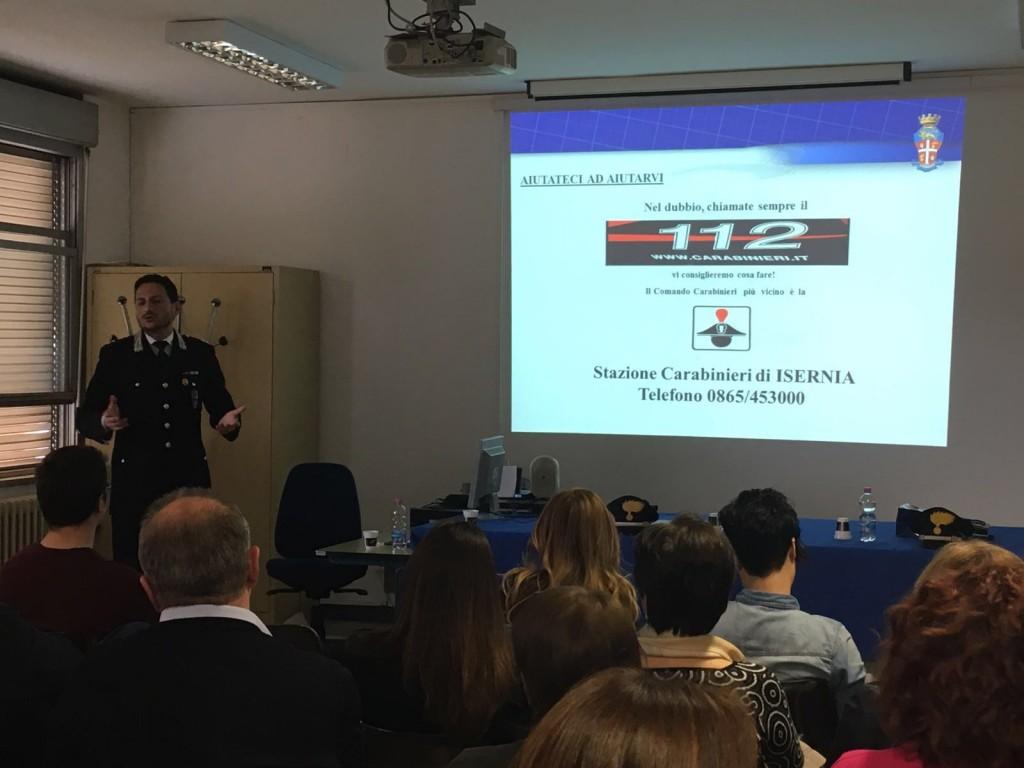 Sicurezza alle Poste, i Carabinieri incontrano i direttori delle filiali pentre