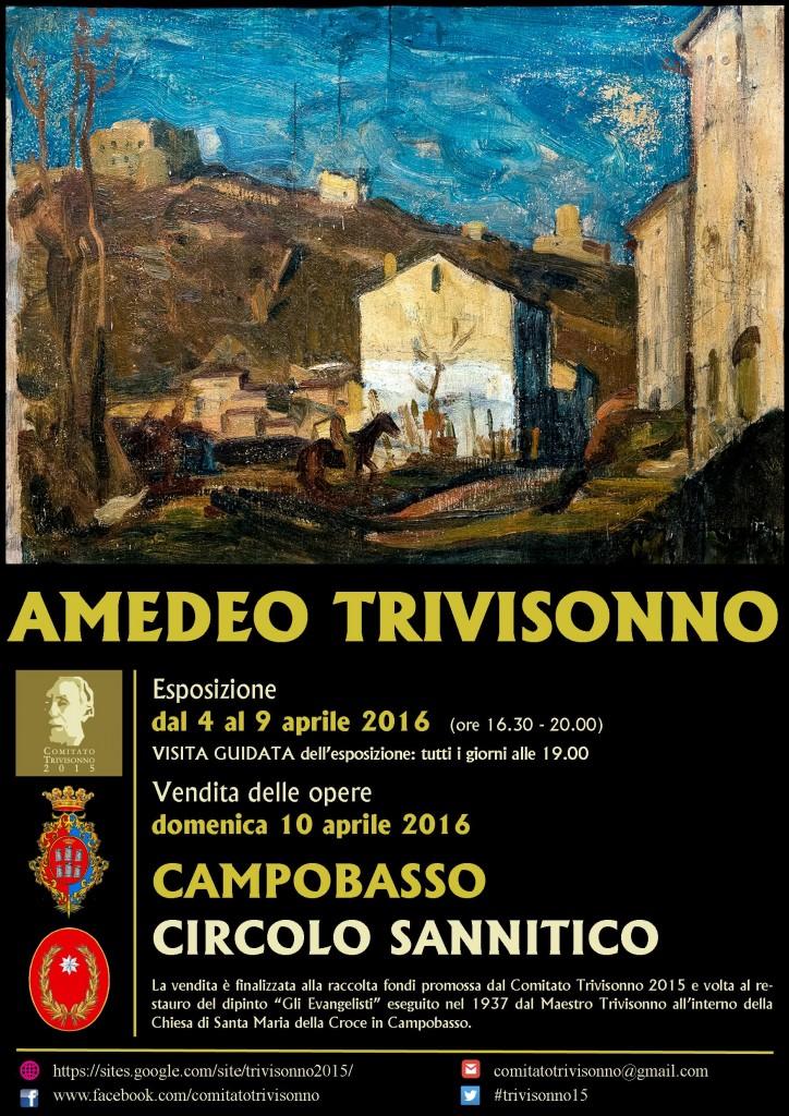 Al Circolo Sannitico l'esposizione delle opere di Amedeo Trivisonno