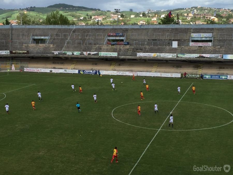 Serie D, Campobasso cinquina e terzo posto