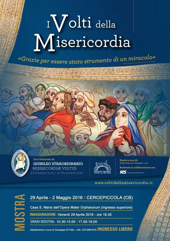 I volti della misericordia da venerdì in mostra a Cercepiccola