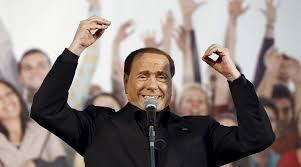 Dal governo Renzi al Milan, parla Berlusconi