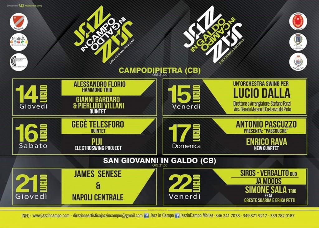 Jazz in Campo, al via la dodicesima edizione