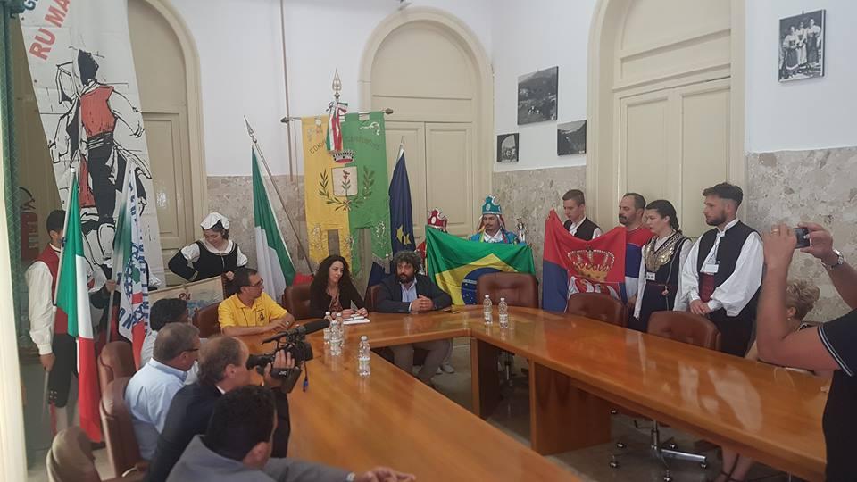 Carpinone, presentato il XVII festival folk internazionale