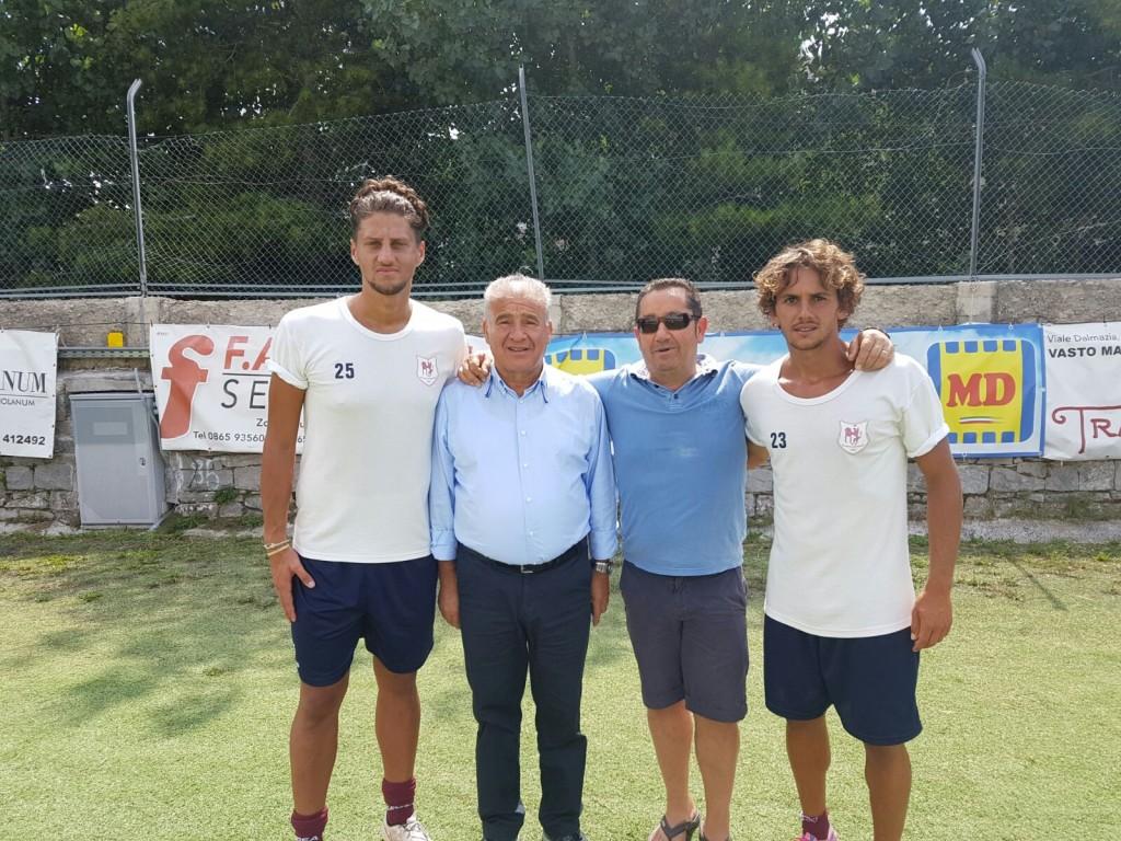 L'Agnone si rinforza per il debutto in Coppa Italia