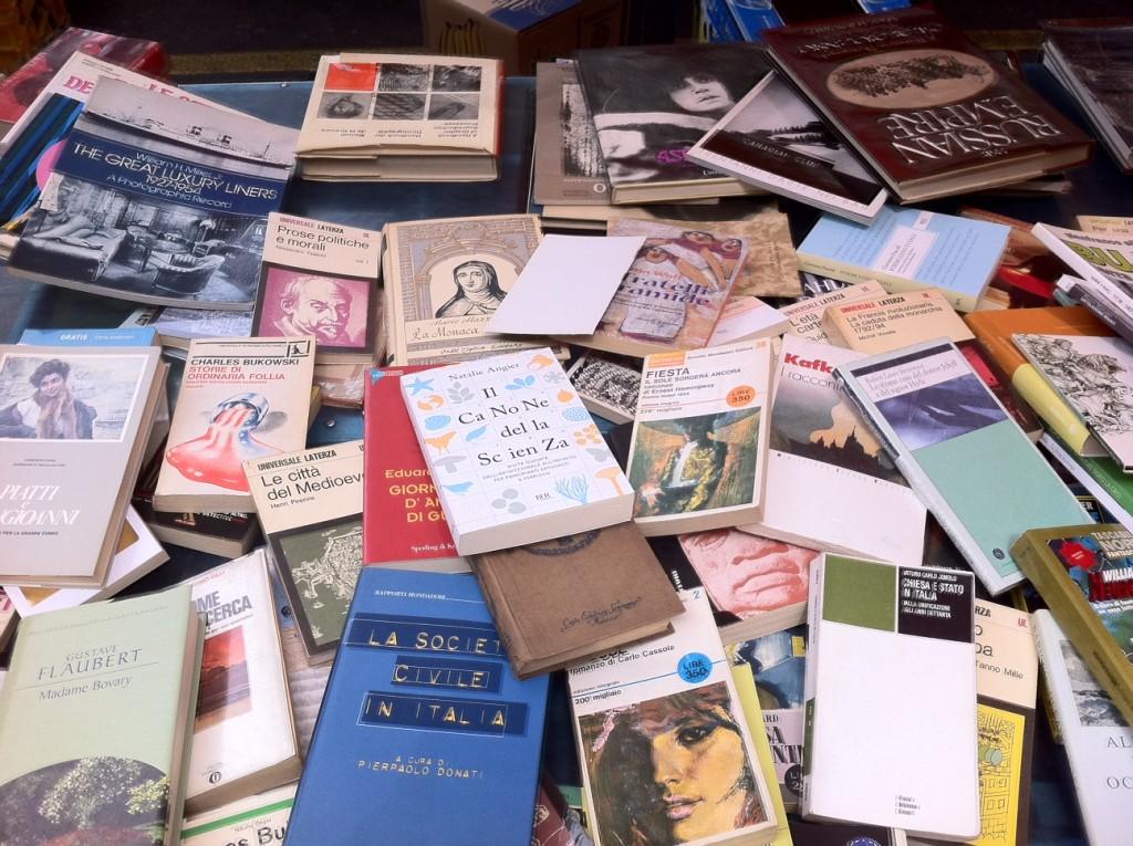 Campobasso, torna il mercatino dei libri usati