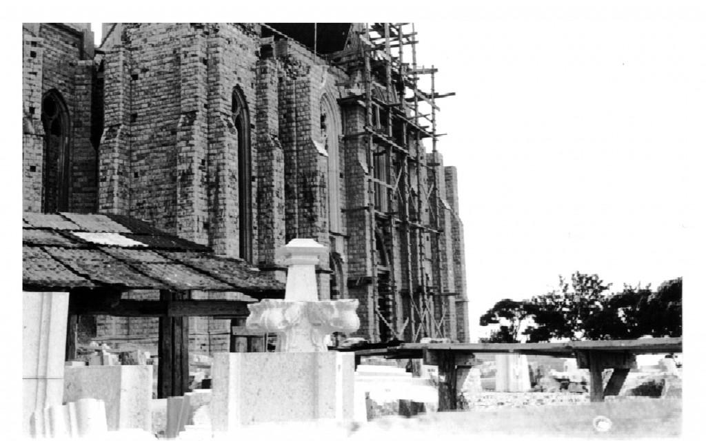 Basilica minore di Castelpetroso, sul web una fotogallery sui lavori del 1957