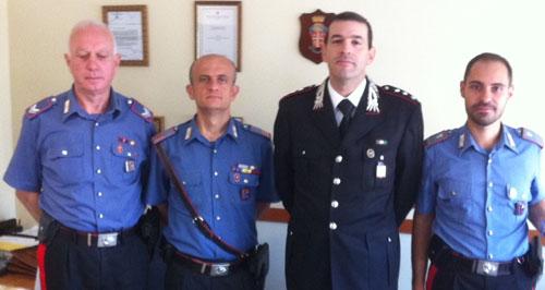 Operazione anticaporalato, premiati i carabinieri impegnati