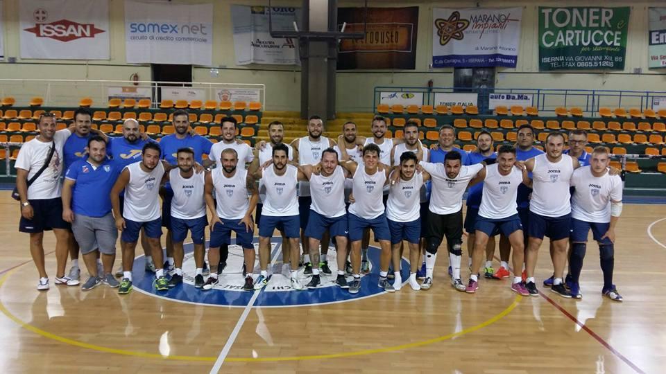 Futsal serie B, domani primo derby