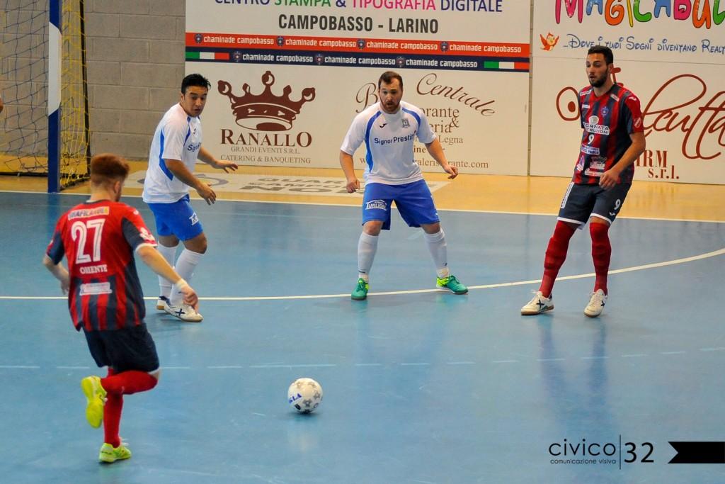 Futsal serie B, domani in campo per il quinto turno