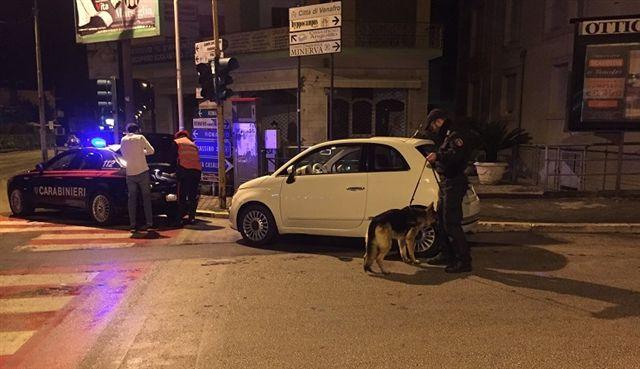 Alcol e locali notturni, blitz dei carabinieri a Venafro