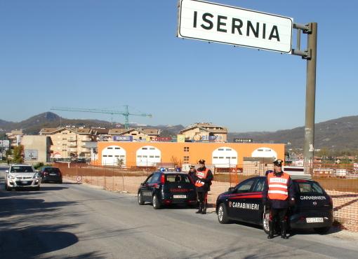 Prevenzione, controlli a tappeto dei carabinieri in tutta la provincia di Isernia