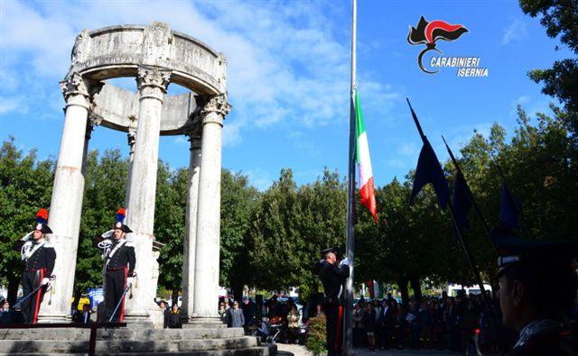 Isernia, i carabinieri commemorano i colleghi defunti