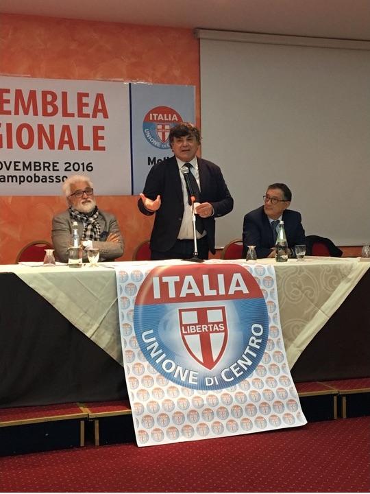 Udc, Di Pietro confermato segretario regionale