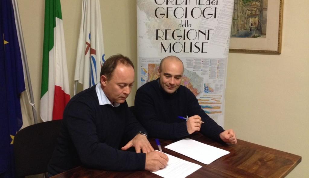 Consorzio Bonifica Trigno-Biferno e geologi, firmato il protocollo d'intesa