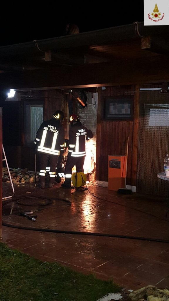 Incendio in un'abitazione, Natale di paura a Santa Maria del Molise