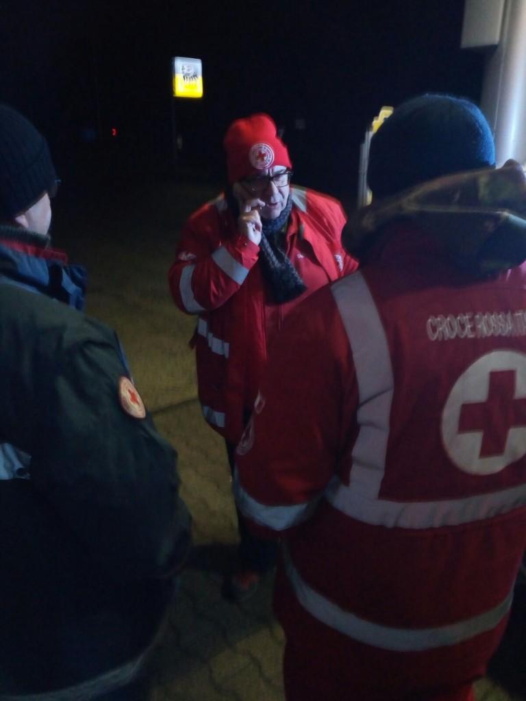 Emergenza maltempo, la croce rossa molisana di supporto in Abruzzo