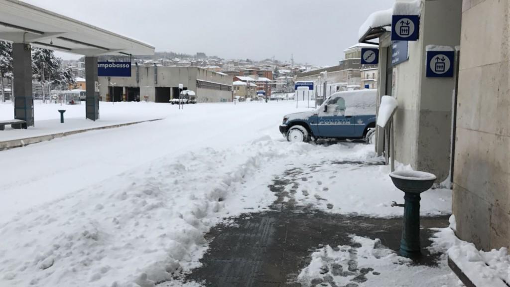 Neve e maltempo, il piano di Trenitalia
