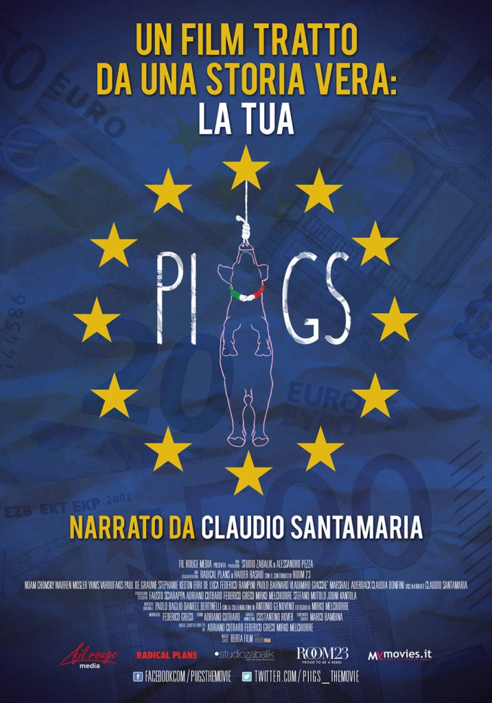 Crisi italiana e dell'Europa, arriva a Campobasso Piigs-The Movie