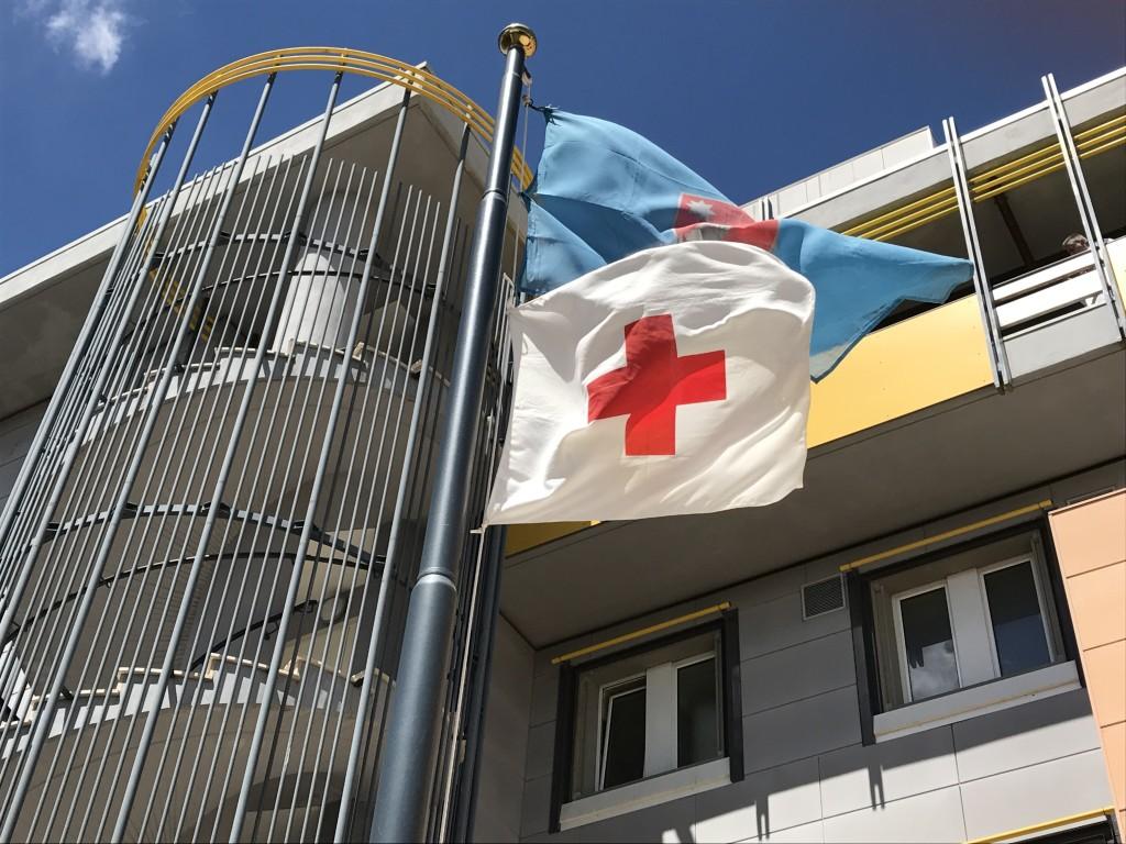 Croce Rossa orgoglio italiano La bandiera sventola in Regione