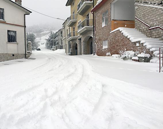 Arrivano 5 milioni e mezzo per la nevicata di gennaio