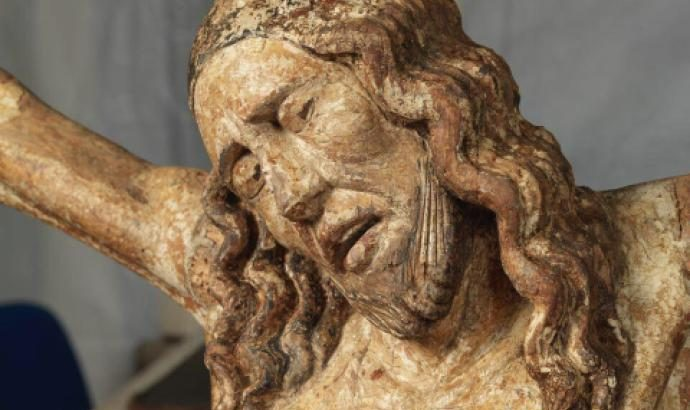 Petrella Tifernina, terminato il restauro del Cristo ligneo