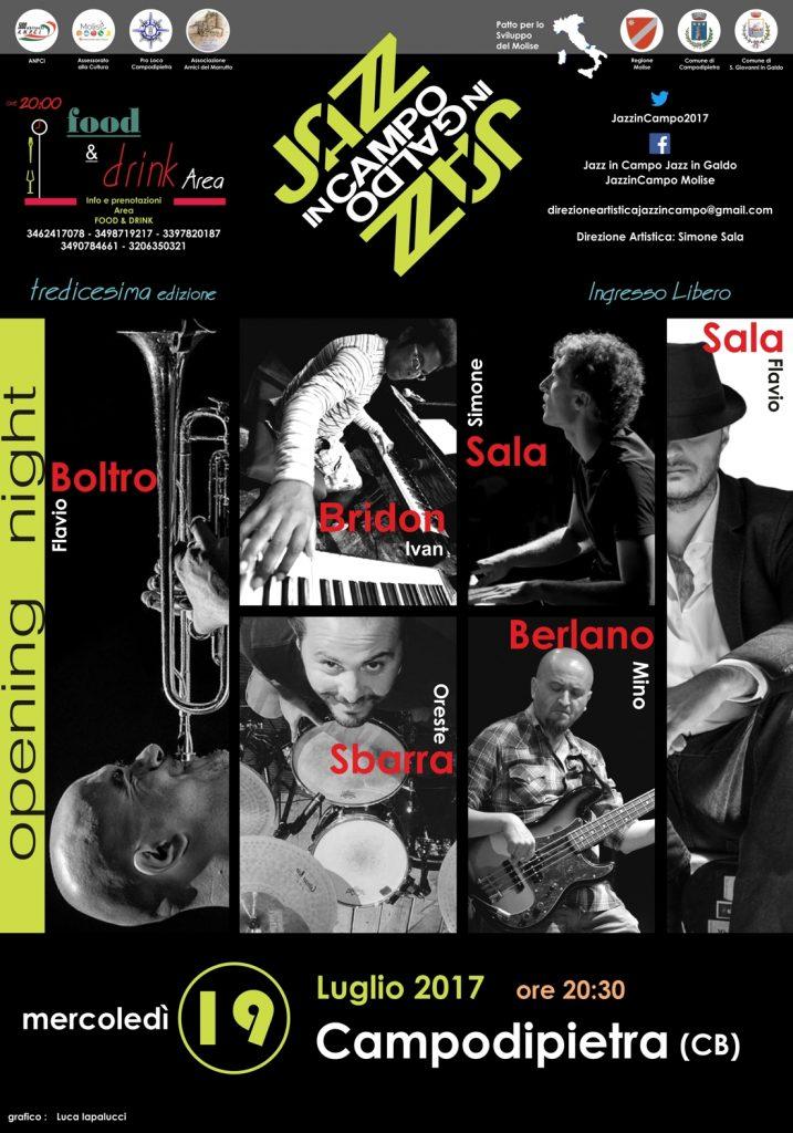 Un viaggio dai Balcani al Molise per la terza serata di Jazz in Campo