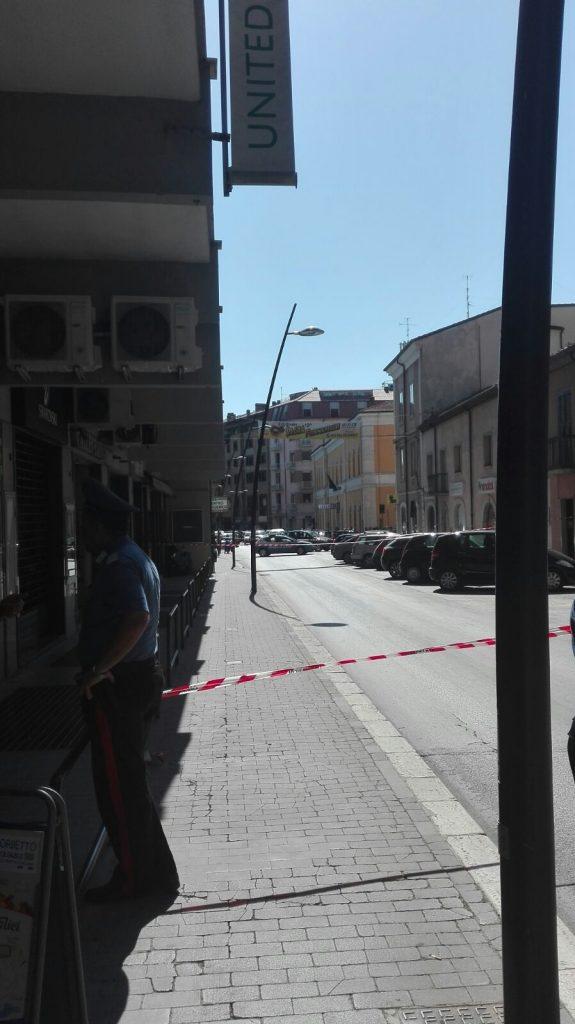 Allarme bomba a Campobasso, centro inibito al traffico. Circolazione in tilt