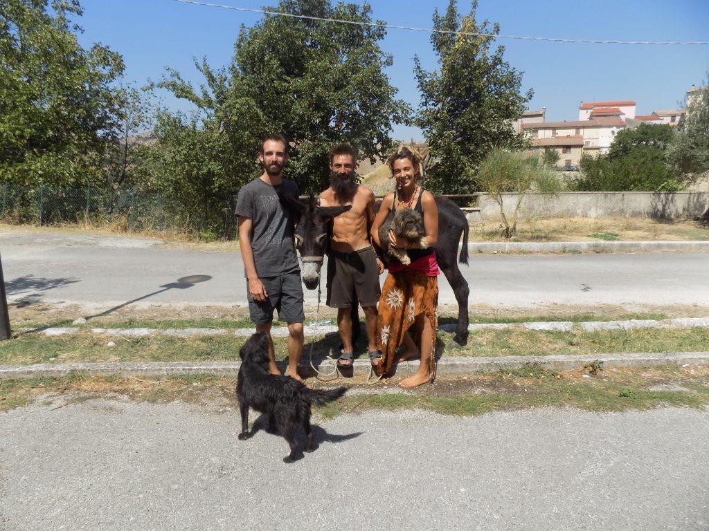 Il fantastico viaggio  a piedi di Alberto, Greba e Gabriele